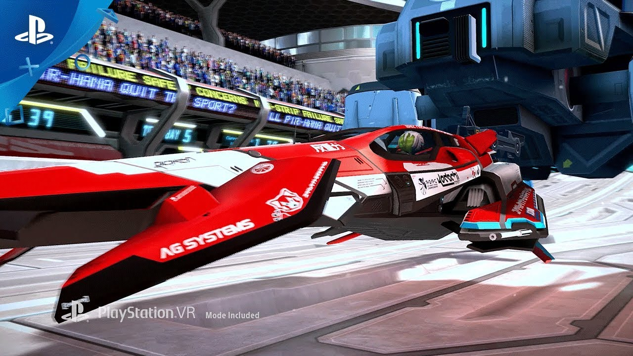 Blast through WipEout: Omega Collection in PS VR With Free Update