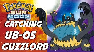 Guzzlord  - (Pokémon) - How to Catch Ultra Beast 05 Guzzlord in Pokemon Sun and Moon! UB-05 Glutton