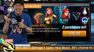 39k Spent on MSF - Quits Game - Offer Review - MARVEL Strike Force