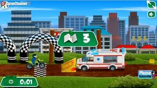 Lego City Great Vehicles, Lego Cool Stunts and Tricks, Videos Games for Children