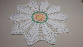 Toalhinha de Crochê ou Sousplat - Wilma Crochê