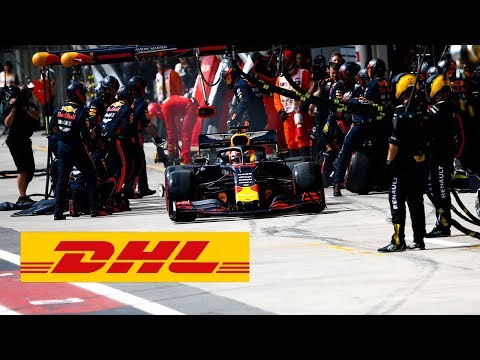 Red Bull Formula One Team records the fastest pit stop ever.