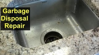 Garbage disposal stuck, how to free it up - Home Repair Series