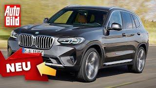 [AUTO BILD] BMW X3/X4 Facelift (2021) | Frische-Kur für die Kompakt-SUVs | Neuvorstellung