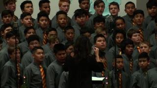 "Lakeside Junior High - ""Christmas Extravaganza""   Choir and Band"