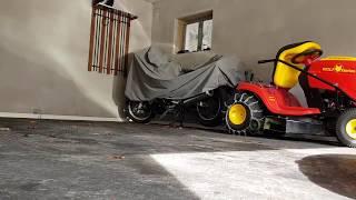 Update 4: Garagenboden schnell, einfach und haltbar sanieren? PVC-Fliesen nach dem Winter.