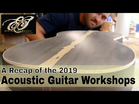 Building a Guitar in 8 Days - A Recap of the 2019 Workshops ...