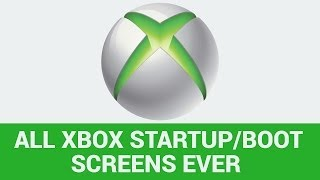 ALL XBOX STARTUP SCREENS | All Xbox Console Startups showing the History of the Startup Screen