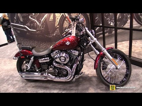 2015 Harley-Davidson Dyna Wide Glide - Walkaround - 2014 New York Motorcycle Show