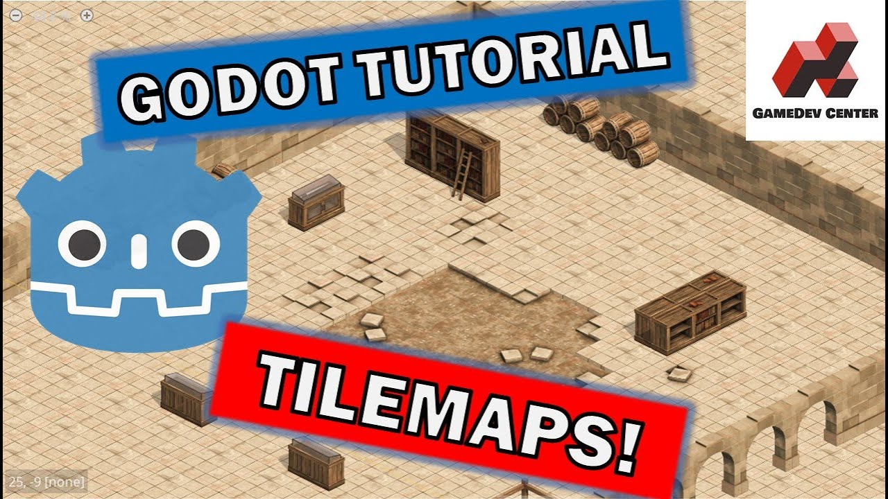 How to Make an Isometric Tilemap Godot Tutorial 3.2