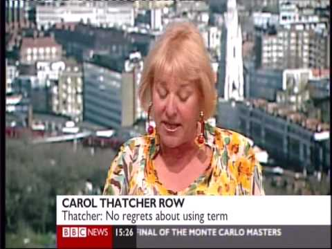 Carol Thatcher Unrepentant Over Golliwogs Mp3