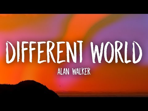 Alan Walker - Different World (Lyrics) Ft. Sofia Carson, K-391, CORSAK - Unique Vibes