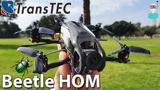 TransTEC Beetle HOM DJI HD CineWhoop - HD FPV In The Palm Of Your Hand