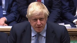 video: Boris Johnson could be forced to ask Brussels for a Brexit extension as MPs pass Bill to block no-deal