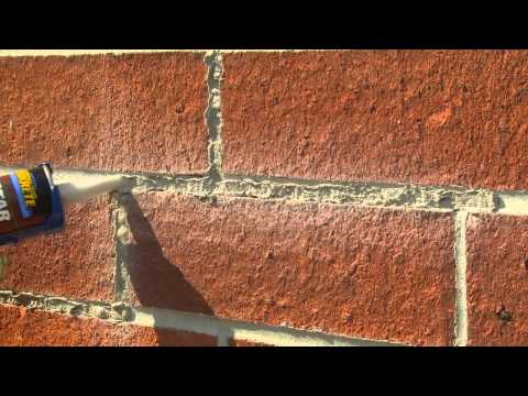 Tuck Pointing Mortar Joints