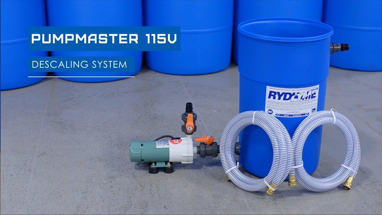 RYDLYME Pumpmaster 115V