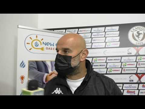 Arezzo-Vis Pesaro 4-2, intervista a mr Stellone