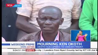 We are still mourning the death of Ken Okoth, let's shun from politics - Kibra leaders