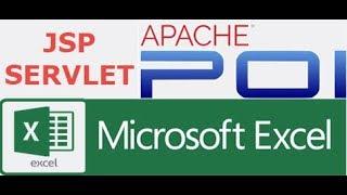 JSP/Servlet Profesional - Part 12 Apache POI Export  to excel