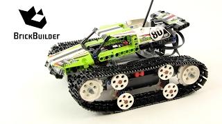 Lego Technic 42065 RC Tracked Racer - Lego Speed Build
