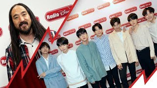"Steve Aoki Talks ""Waste It On Me"" with BTS 
