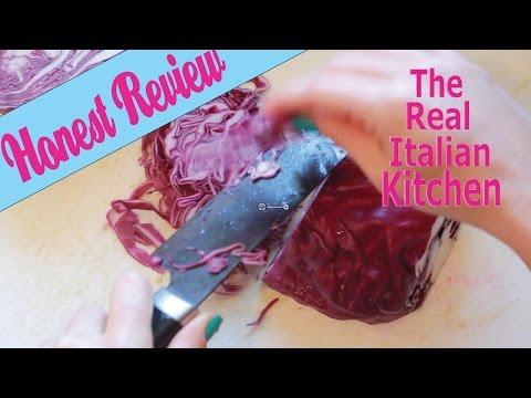 Kyocera Ceramic Knife Honest Review – Real Italian Kitchen – Episode 103