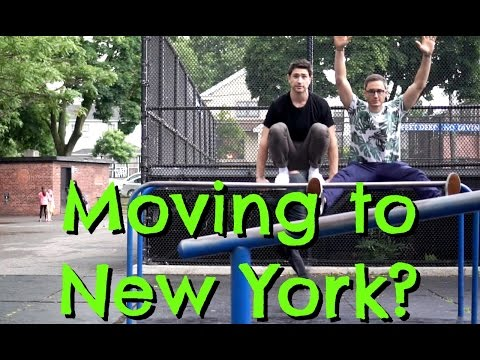 Concrete Jungle | Moving To New York? | MATT AND BLUE