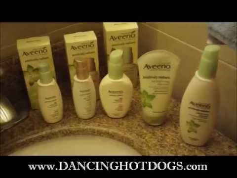 Aveeno Active Naturals Positively Radiant Skincare products