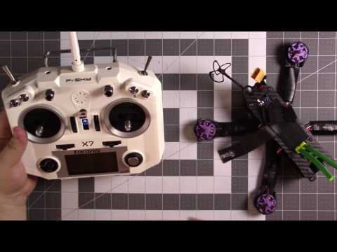 Taranis QX7 FPV Gimbal Adjustment and Switch Setup Guide