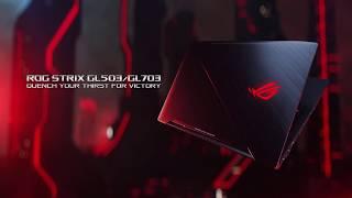 Ноутбук ASUS ROG Strix GL703VD від компанії CyberTech - відео