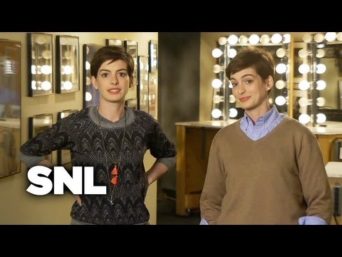 SNL Promo: Anne Hathaway and Jason Sudeikis - Saturday Night Live