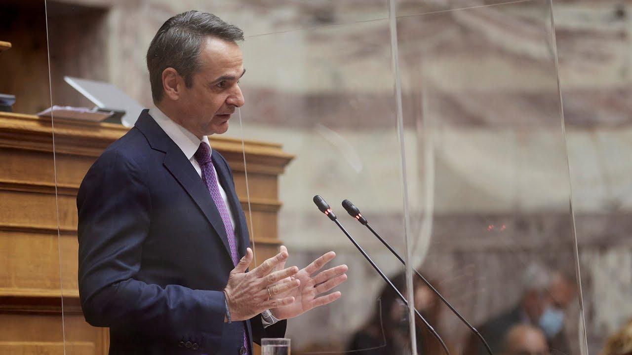 Ομιλία Κυριάκου Μητσοτάκη στη Βουλή | Προ ημερησίας διάταξης συζήτηση