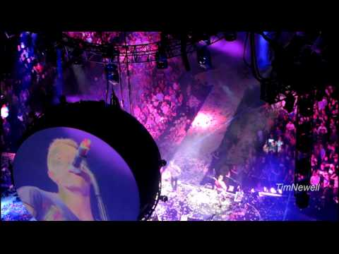 Coldplay (1080 HD) Don't Let It Break Your Heart - St. Paul 2012-08-11 - Xcel Energy Center