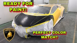 REBUILDING A WRECKED LAMBORGHINI HURACAN FROM COPART PART 5 **7.18.2019 GIVEAWAY***