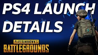 PUBG PS4 - Everything You Need To Know - Crossplay, FPS, Maps, M&K Support