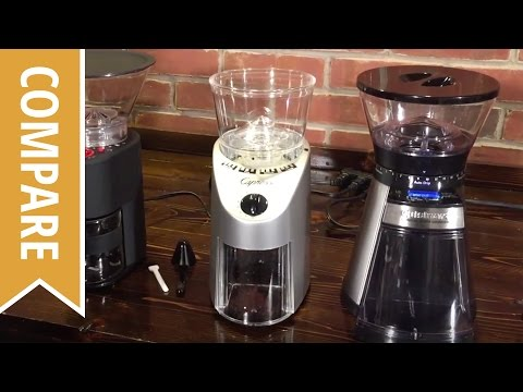 Compare: Bodum, Capresso and Cuisinart Burr Coffee Grinders