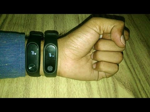 Xiaomi Mi Band 2 VS Bingo M2 Band Heart Rate Sensor In Depth Comparison