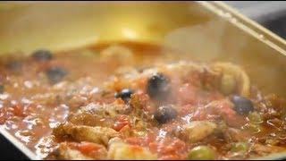 Курица по-мароккански - рецепт Уриэля Штерна