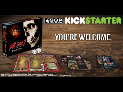 Official Evil Dead Board Game Takes Boomstick To Its Kickstarter Funding Goal
