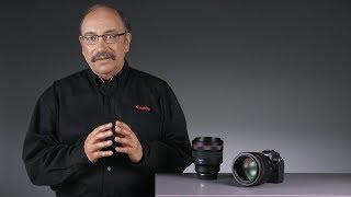 Canon presenta l'obiettivo USM F1.2 L RF 85mm.