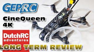 GepRC CineQueen 4K + Runcam Hybrid 4K! - Cinematic FPV Cruiser - LONG TERM REVIEW !