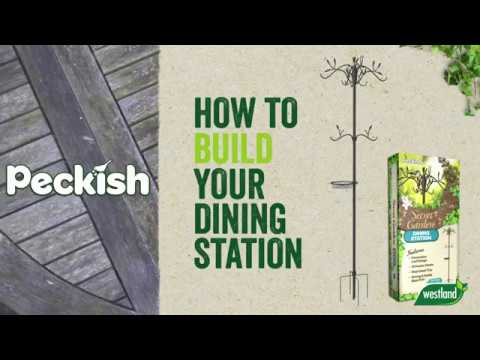 Peckish Secret  Garden Dining Station Box Video