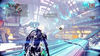 [Warframe PS4] Europa Boss Fight: Raptor [Gameplay  Commentary 37]