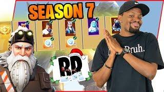 Fortnite Season 7 Battle Pass REACTION & First Impressions