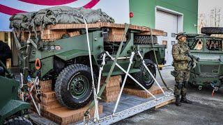 Nowe pojazdy wojsk aeromobilnych dla 6 Brygady Powietrznodesantowej
