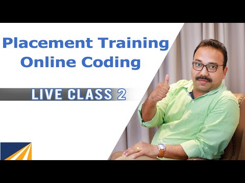 Placement Training - Online Coding - Level 1 - Live 2 - YouTube