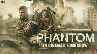 Phantom Official Trailer  Saif Ali Khan Katrina Kaif