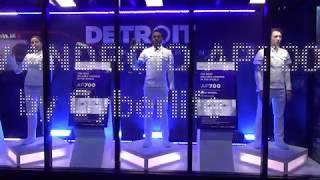 東京ゲームショウ2017⑤アンドロイドAP700完全版ショーケース展示DETROITBECOMEHUMANブースSONY