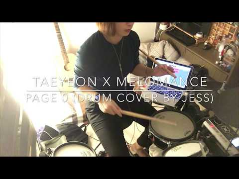 [STATION X 0 ] 태연 (TAEYEON) X 멜로망스 'Page 0' (Drum Cover By Jess)