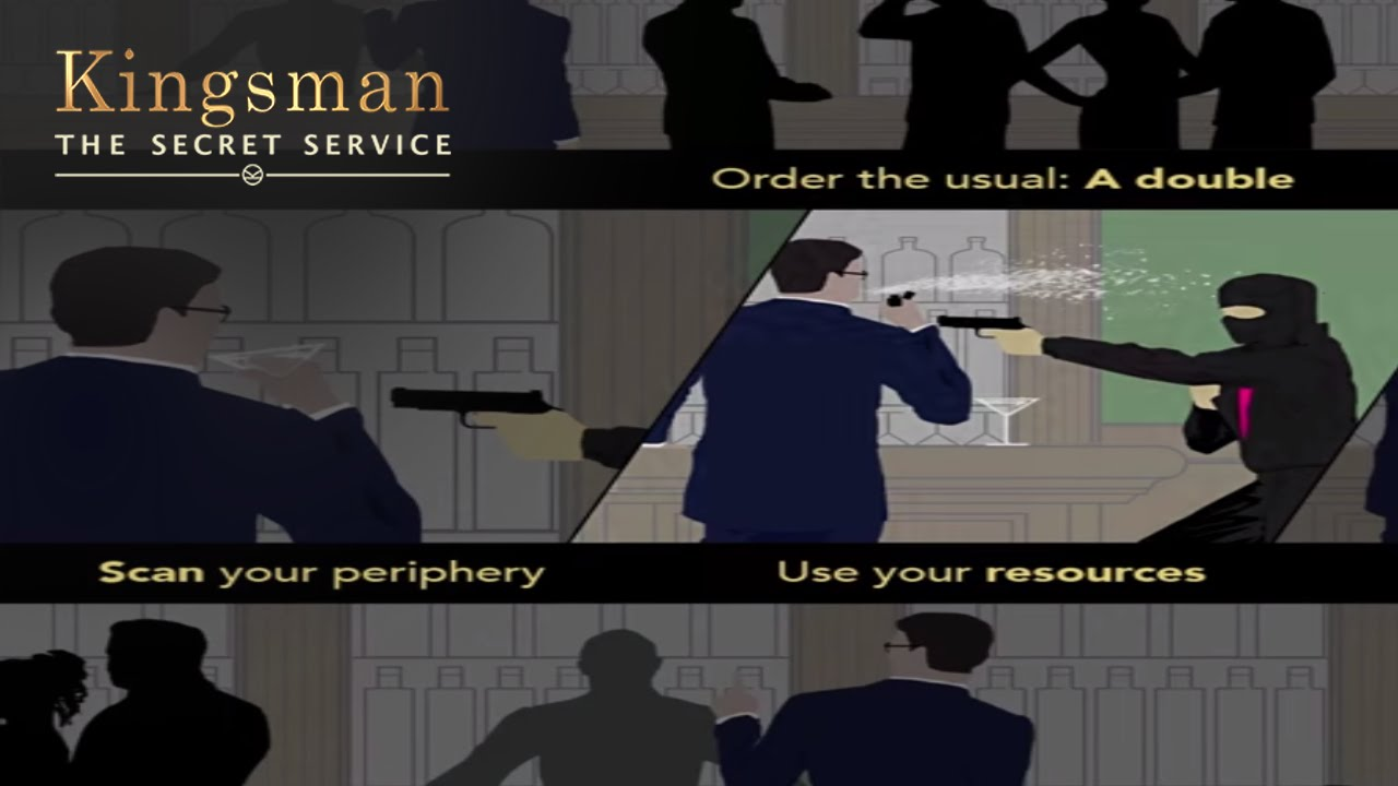 The Kingsman Way - A Lesson In: Holding Your Liquor